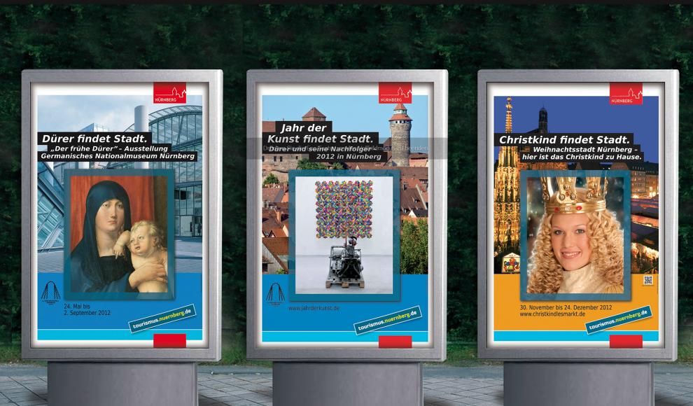 Dürer findet Stadt