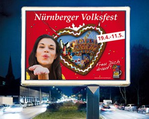 Volksfest-Plakatkampagne
