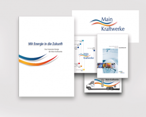 Corporate Design Mainkraftwerke