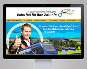 Jobportal für Bayerns Bahnen