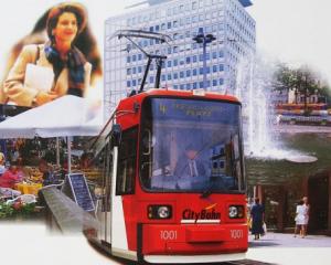 Imagebroschüre VAG CityBahn